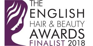The English Hair and Beauty Awards Finalist 2018 Logo