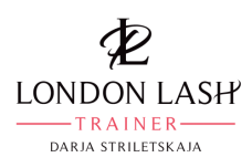 London Lash Professional Trainer Darja Striletskaja Logo