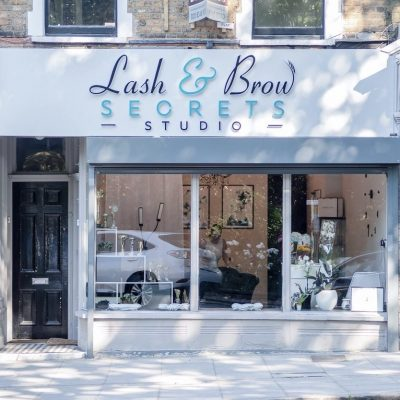Exterior view of Lash and Brow Secrets Studio